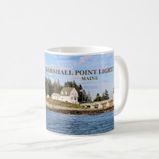 Marshall Point Light, Port Clyde Maine Mug