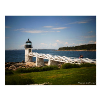 Marshall Point Light Postcard