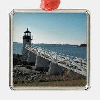 Marshall Point Lighthouse 5 Metal Ornament