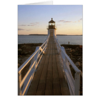 Marshall Point Lighthouse Card