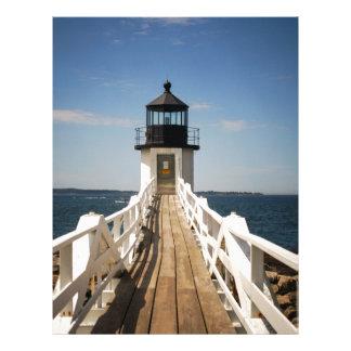 Marshall Point Lighthouse Letterhead