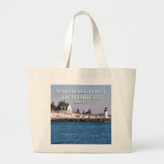 Marshall Point Lighthouse, Maine Jumbo Tote Bag