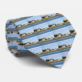 Marshall Point Lighthouse Maine Mens Tie