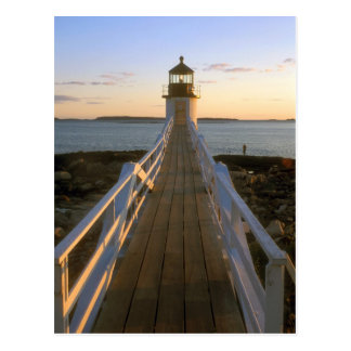 Marshall Point Lighthouse Maine Postcard