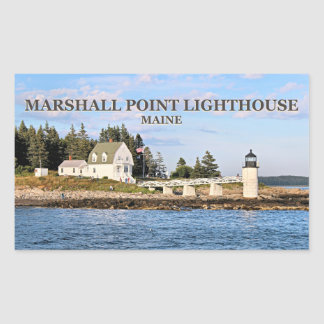 Marshall Point Lighthouse, Maine Stickers