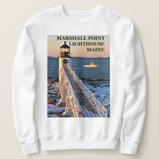 Marshall Point Lighthouse, Maine Sweatshirt