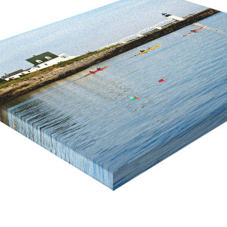 Marshall Point Lighthouse Maine Wrapped Canvas