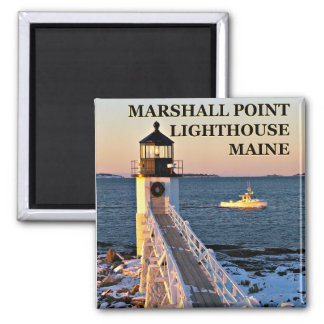 Marshall Point Lighthouse, Port Clyde Maine Magnet