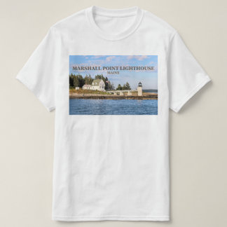 Marshall Point Lighthouse, Port Clyde Maine TShirt