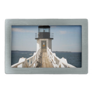 Marshall Point Lighthouse Rectangular Belt Buckles