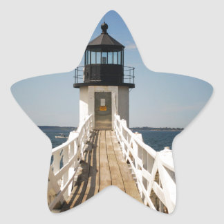 Marshall Point Lighthouse Star Sticker