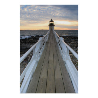 Marshall Point Lighthouse Walkway Poster