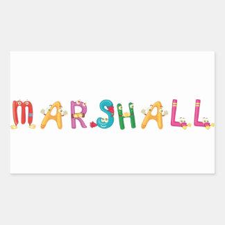 Marshall Sticker