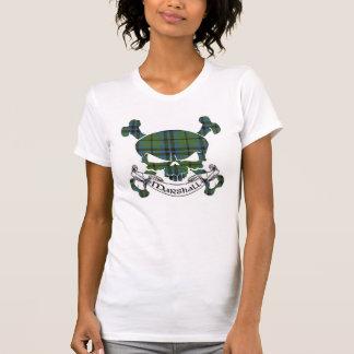 Marshall Tartan Skull T-Shirt