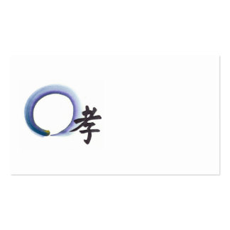 Marshalling Piety, Enso Business Card