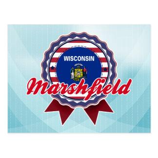 Marshfield, WI Postcard