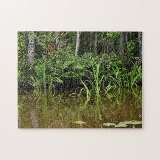 Marshland Grasses Jigsaw Puzzle
