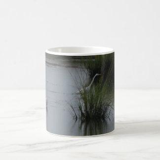 Marshlands Egret Coffee Mug