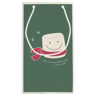 Marshmallow and Hot Chocolate Christmas Gift Bag