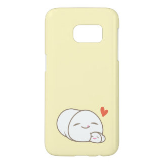 Marshmallow Love Samsung Galaxy S7 Case