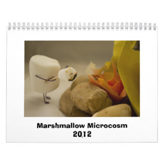 Marshmallow Microcosm 2012 Wall Calendars