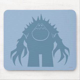 Marshmallow Silhouette Mouse Pad