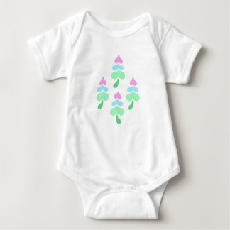 Marshmallow Trees Baby Bodysuit