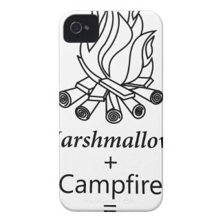 Marshmallows + Campfire = Yay! Case-Mate iPhone 4 Cases