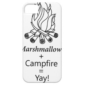 Marshmallows + Campfire = Yay! iPhone 5 Cases