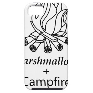 Marshmallows + Campfire = Yay! iPhone 5 Cover