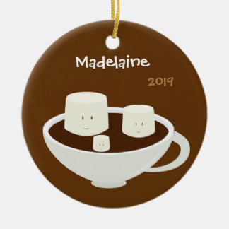 Marshmallows in Hot Chocolate | Christmas Ornament