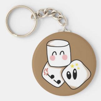 Marshmallows Keychain