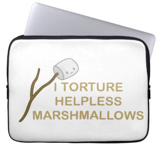 Marshmallows Neoprene Laptop Sleeve 13 inch