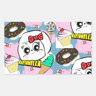 Marshmella Stickers