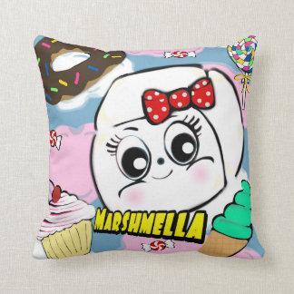 Marshmella Throw Pillow