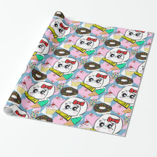 Marshmella Wrapping Paper