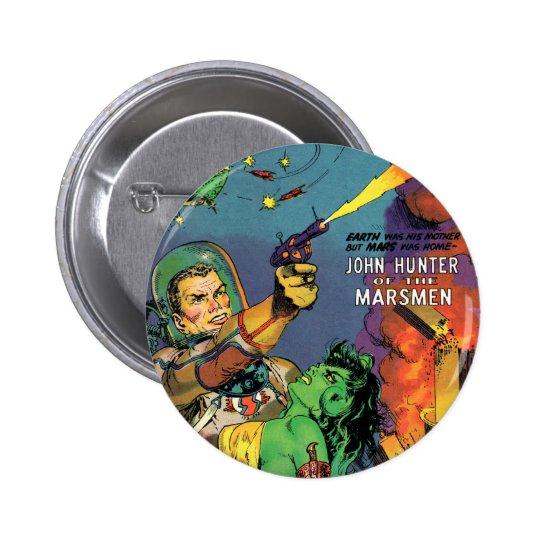 Marsmen 2 Inch Round Button