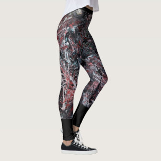 Marta Abstract Painting 2 Leggings