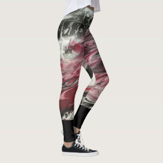 Marta Abstract Painting Leggings