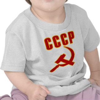marteau et faucille de l URSS de cccp T-shirts