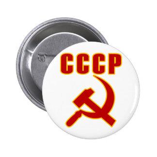 marteau et faucille de l'URSS de cccp Badge Avec Épingle