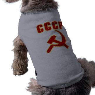 marteau et faucille de l'URSS de cccp Manteaux Pour Toutous