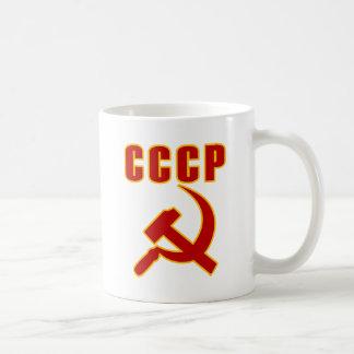 marteau et faucille de l'URSS de cccp Mug À Café