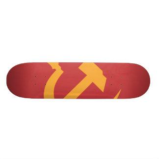 marteau et faucille de l'URSS de cccp Skateboards Personnalisés