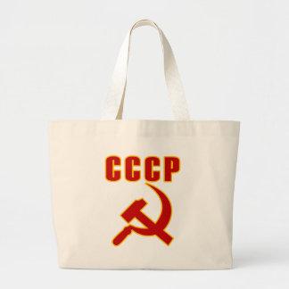 marteau et faucille de l'URSS de cccp Sac En Toile Jumbo