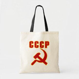 marteau et faucille de l'URSS de cccp Sac En Toile Budget