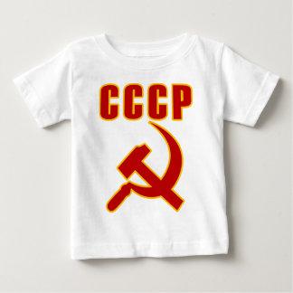 marteau et faucille de l'URSS de cccp T-shirt Pour Bébé