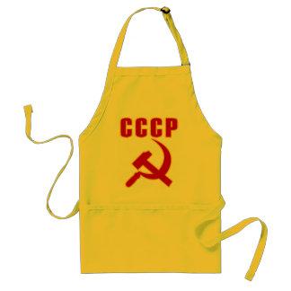 marteau et faucille de l'URSS de cccp Tablier