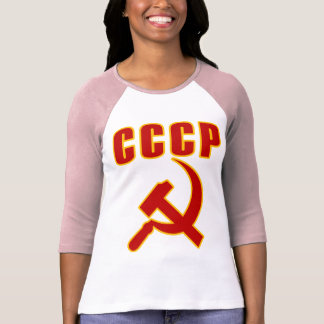 marteau et faucille de l'URSS de cccp Tee-shirt
