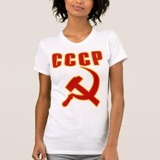 marteau et faucille de l'URSS de cccp Tshirts